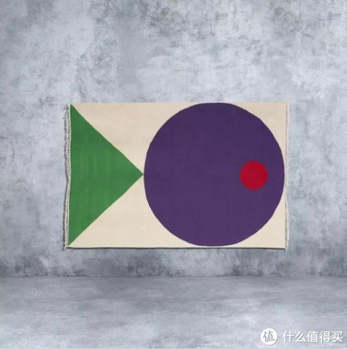 宜家ART EVENT 2019 联名限量地毯,发售价1999元