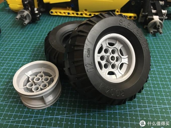 大轮胎详细图