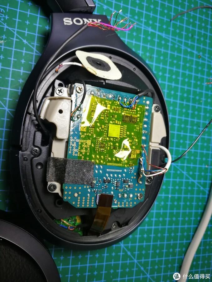 耳机维修15:SONY WH1000XM2单边不响,换单元维修过程