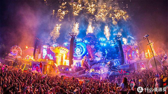 图片来自Tomorrowland音乐节官网