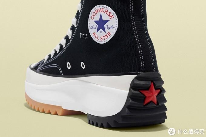 星条旗鸳鸯配色:JW Anderson x Converse 2019 Grid '70s/Run Hike 联名鞋款 即将发售