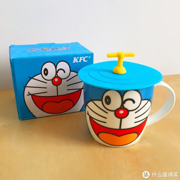 玩具测评丨KFC肯德基2015年哆啦a梦马克杯