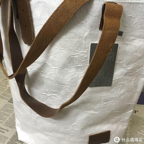 """我又去买了个包,""""纸""""的,估计不耐磨"""