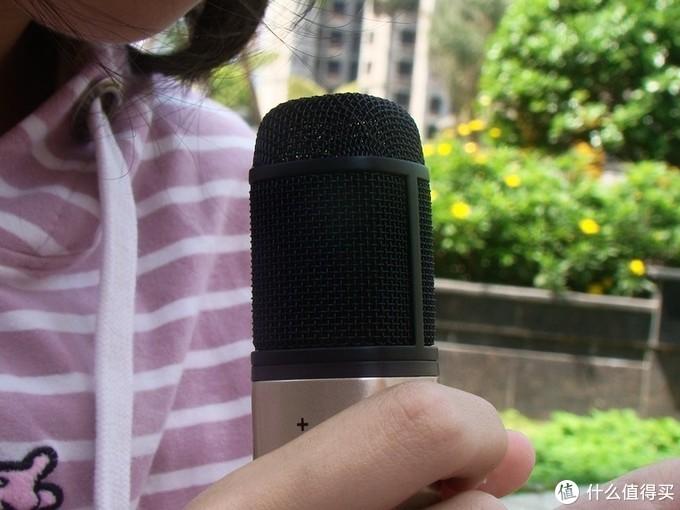 唱吧经典C1电容式有线麦克风体验