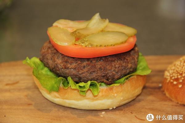 吃个汉堡!周末奖励一下自己