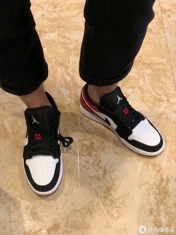 Air Jordan 1 Low Black Toe 低帮黑脚趾开箱