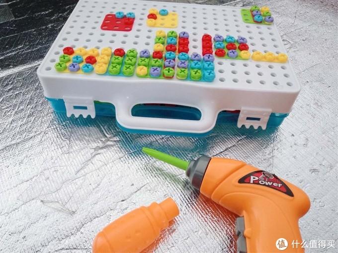 动脑又动手,益智电动螺母蘑菇钉玩具!