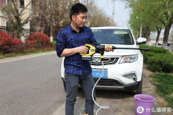 入手莱克吉米无线洗车机,小巧便携水压大全家都爱上洗车