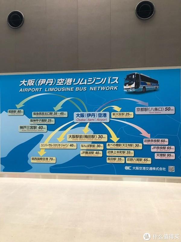 伊丹机场巴士路线图