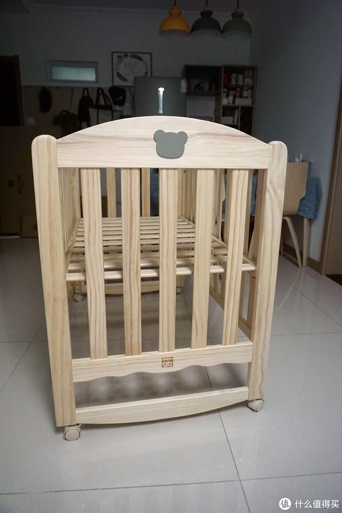 萌宝的第一张床—好孩子婴儿床MC115-A简晒