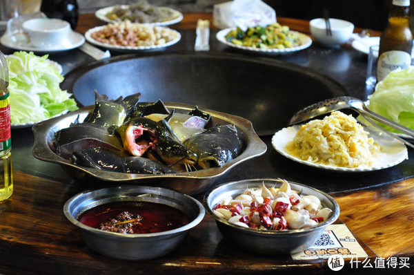 北京地道的柴火炖大鱼