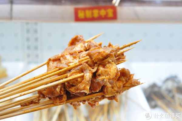 天了噜了!1块2吃牛肉串串和大虾,牛串门就是这么牛气