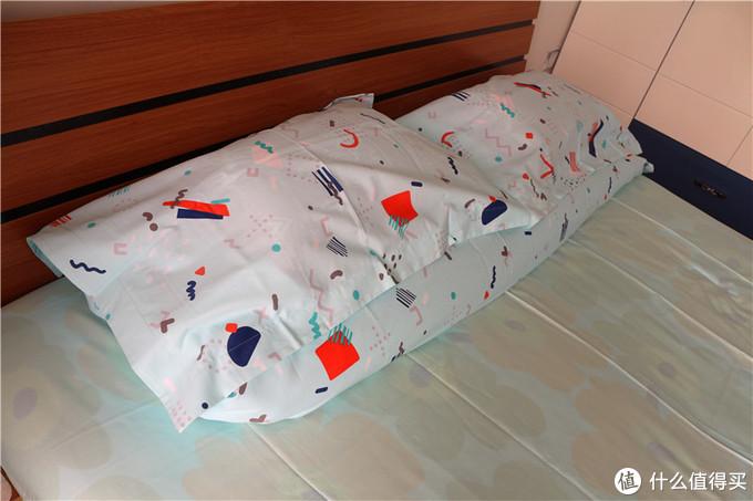 淘宝心选 梦乐园系列 四件套、抱枕和U型枕,完美的居家组合装体验