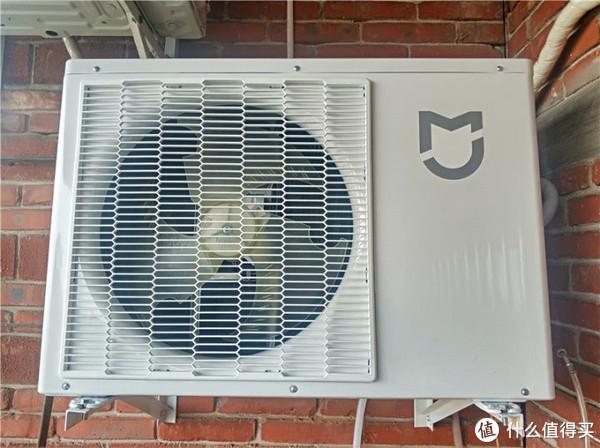 超静音的米家互联网空调全直流变频,0.1度精准控温舒适每一天