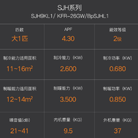 松下蓄热式空调产品介绍(参数|颜值|配色)