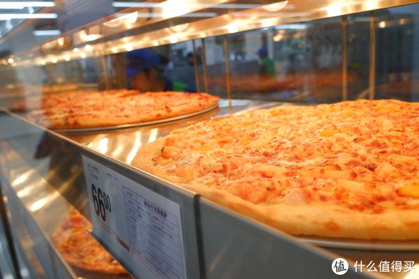 66一大张,12一牙的大披萨,应该是15寸吧?