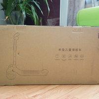 小米米兔滑板车外观展示(包装|组件|本体|轮胎)