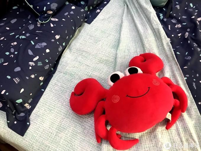 精致有趣,淘宝心选 梦乐园系列 四件套、抱枕和U型枕(午夜蓝)