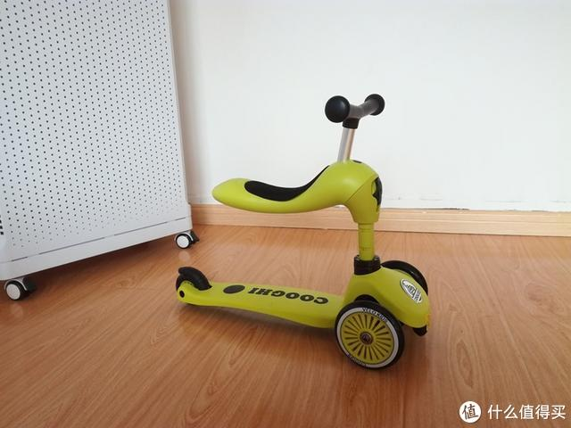拒绝补习班,给孩子一个快乐的童年,体验酷骑V3多功能儿童滑板车