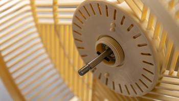 Bruno复古智能空气循环扇使用总结(噪音 网罩 旋钮 转动)