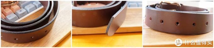 七面植鞣皮黄铜扣手工皮带体验记