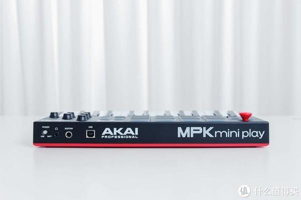 千元级MIDI「优品」,AKAI MPK MINI PLAY上手体验