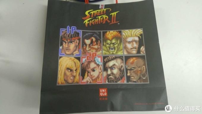 纸袋子一个面=街头霸王2的选人画面。