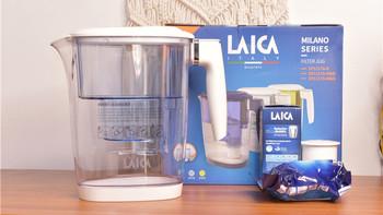 莱卡LACIA直饮壶开箱测评(手柄|滤芯|本体|激活器)