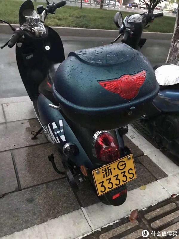 电动摩托车牌照
