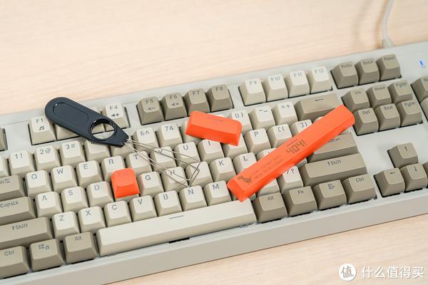 SA球型PBT材质键帽 黑爵AK510复古机械键盘评测