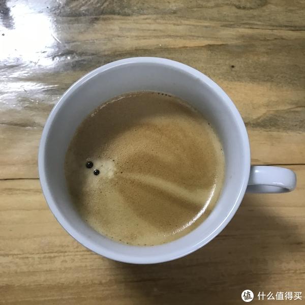 咖啡油脂非常漂亮