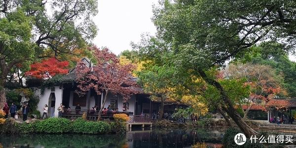多彩的深秋