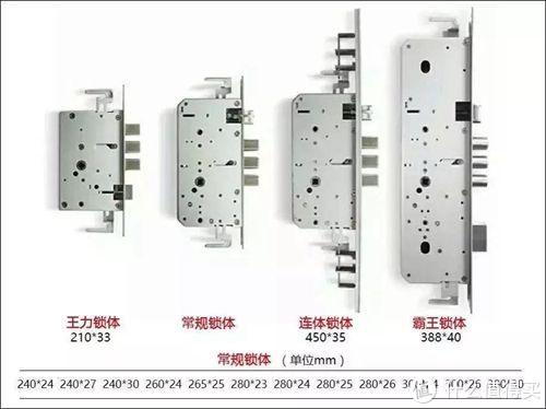 此图中可以看出 霸王锁体锁具结构施展空间更大 锁闭门体锁舌更多 与之相对应的门体匹配安全系数更高。