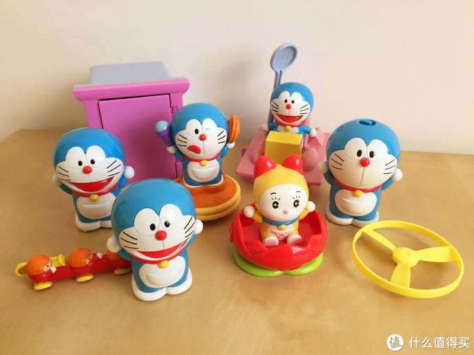 玩具测评丨麦当劳2005年哆啦a梦神奇道具组