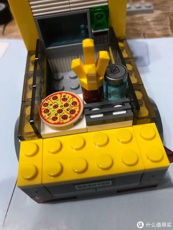乐高小镇美食街之三美食披萨车60150,不可多得的城市佳作