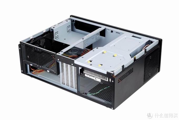 可以支持MATX主板和普通ATX电源扩展性很好