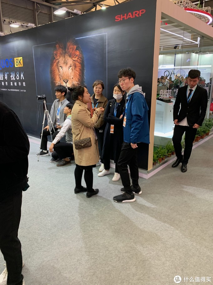 跟蓝心一起逛展会2019AWE-(1)华为夏普三星索尼LG大宇