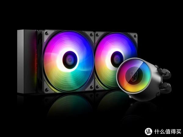 """防漏水专利:Deepcool 九州风神 发布 CASTLE 240 RGB V2  """"堡垒""""水冷散热器"""