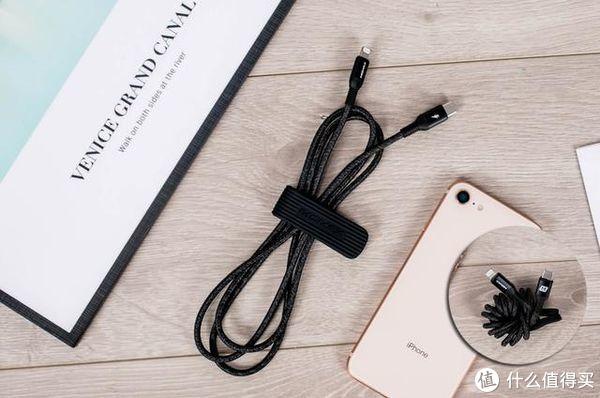 小妹入手iPhone摩米士快充线,听说能让充电速度变快