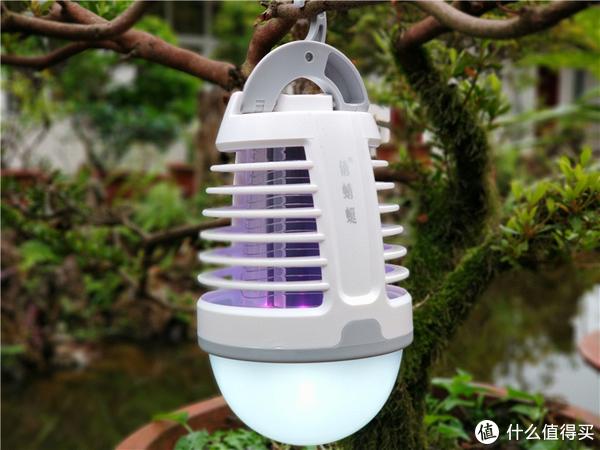 夏日默默无蚊好帮手俏蜻蜓便携式灭蚊灯
