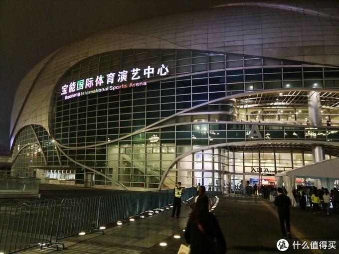 位于广州市萝岗区的演艺中心