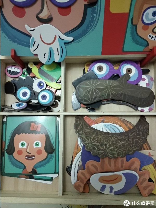 多功能拼图加画板,孩子练习搭配创意多!