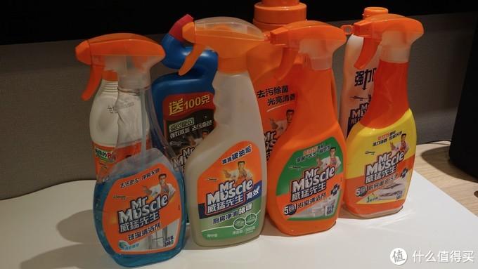分享我使用的全屋清洁用品