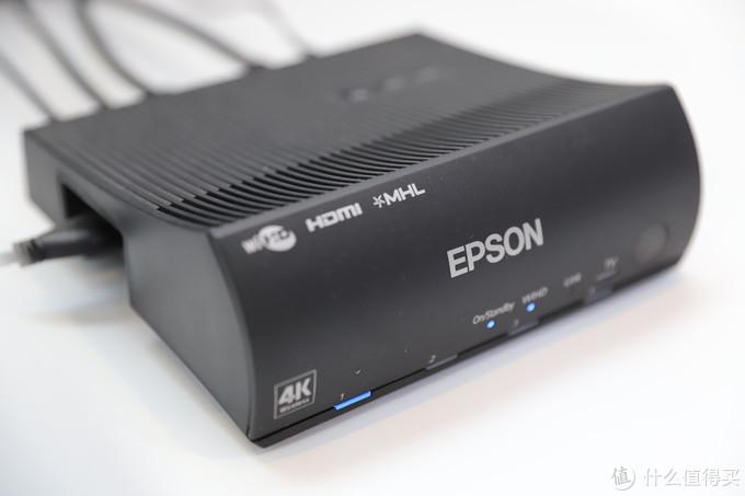 无线HDMI传输只有发射端,接收端是直接集成在投影机内部