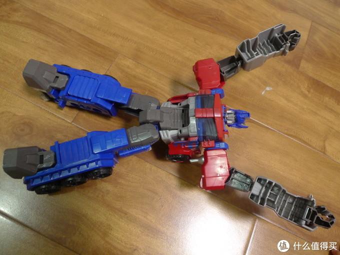 极限长度。双手双脚展开,真的挺大的。像一个中号布娃娃了。