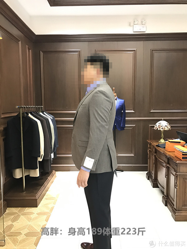 各种体型的人该怎么选西服?--全部现场实拍案例