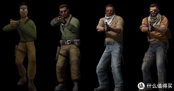 CS二十年角色演变,从青葱骚年到秃顶大叔!
