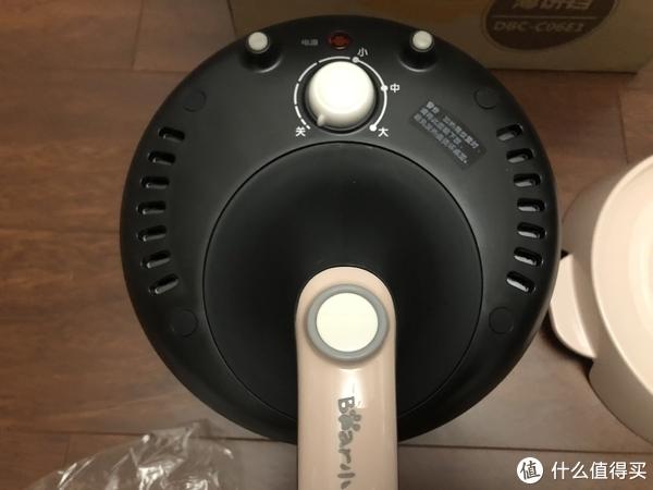 旋钮开关是控制加热程度的控制器,分大中小三挡