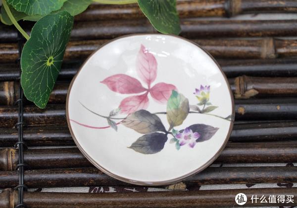 清新素雅,灼灼其华:Ceramic 蓝 花华里 小食碟 木盒装 5件套