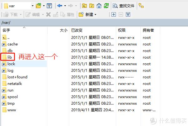 进入lib文件夹